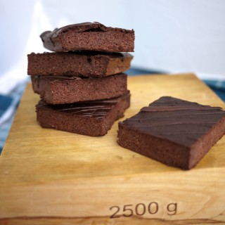 THM Mocha black bean browniesMocha black bean brownies