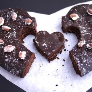 Low carb Valentine's torte