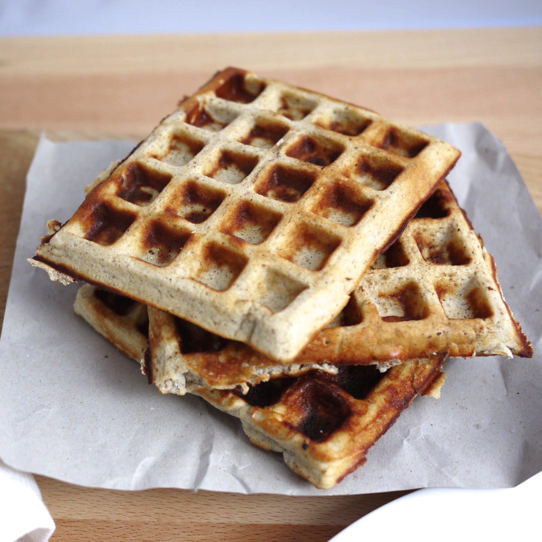 Gluten-free banana batter waffles